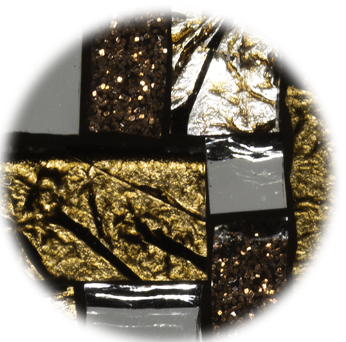 Bijoux en mosaïque Tesselline ambiance Damiers