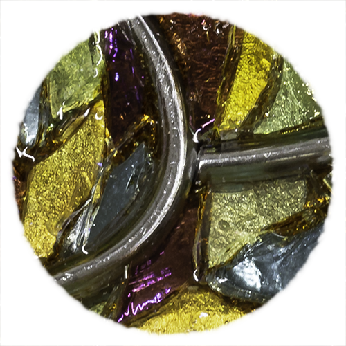 Bijoux en mosaïque Tesselline ambiance Vitrail